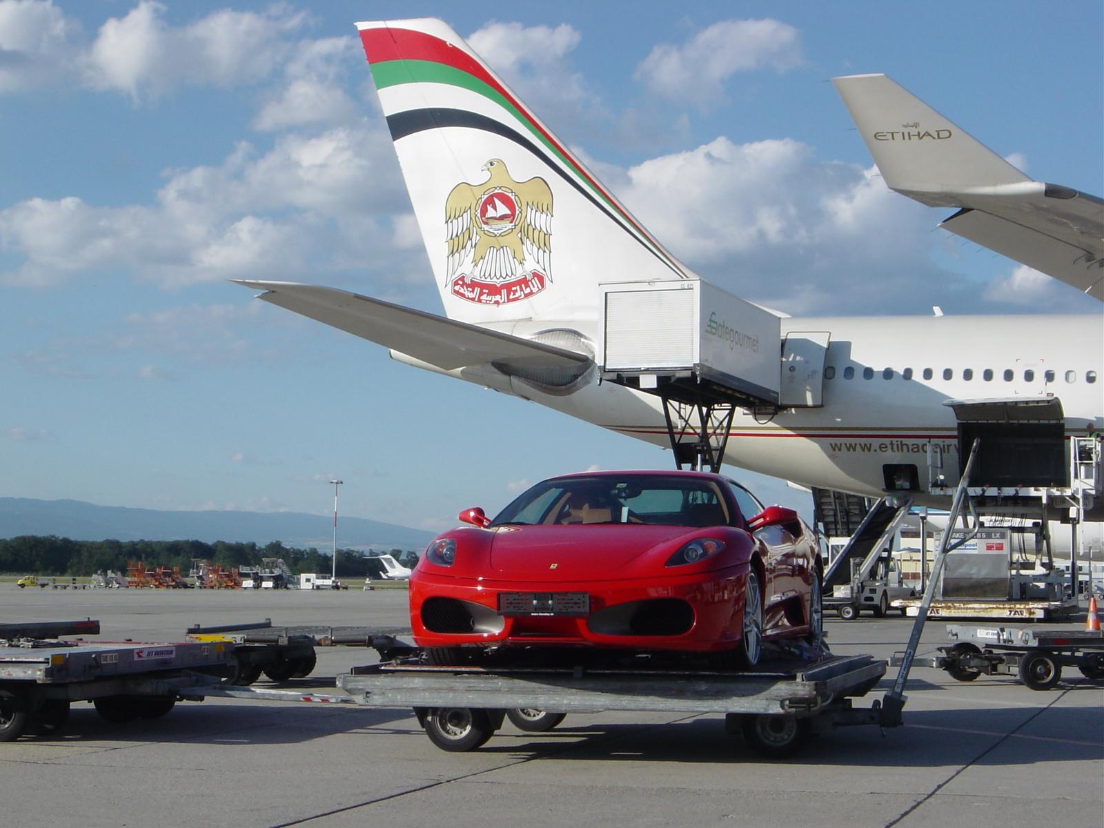 Air Freight Car