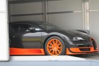Truck transportation for Bugatti