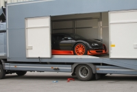 Truck transportation for Bugatti